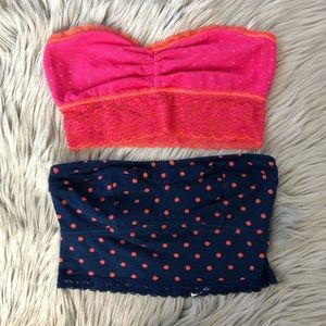 Small, bundle of two bralletes by aerie